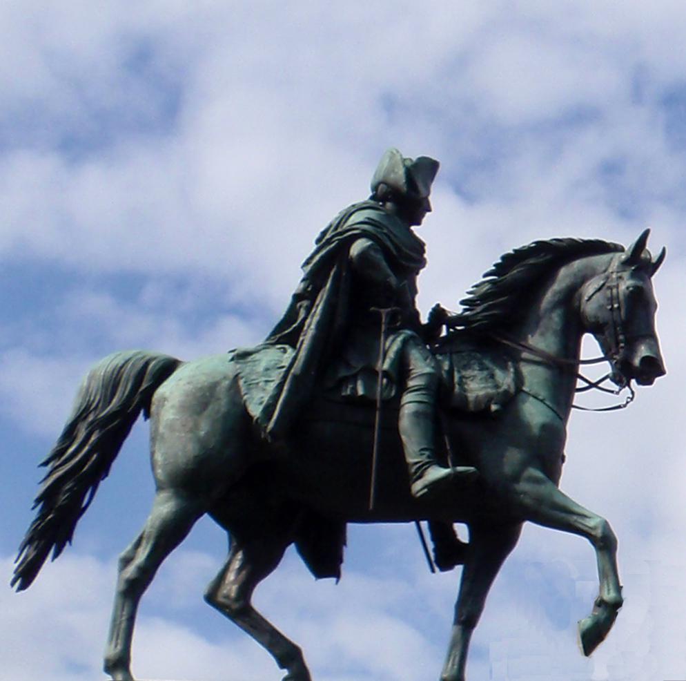 Frederik den Store på Unter den Linden