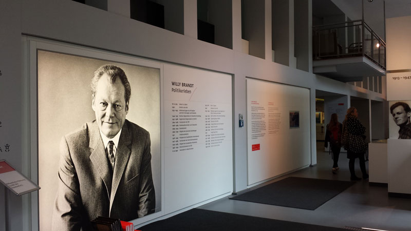 Willy Brandt Forum Berlin. Foto: Kirsten Andersen
