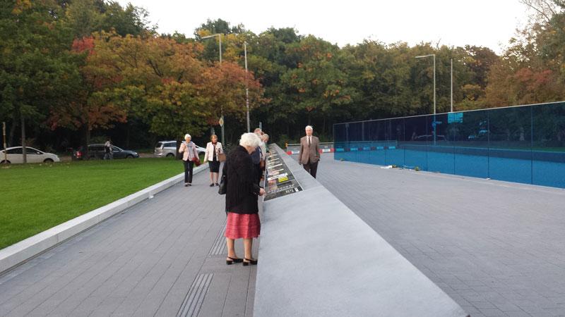 Gedenk- und Informationsort für die Opfer der nationalsozialistischen »Euthanasie«-Morde. Foto: Kirsten Andersen
