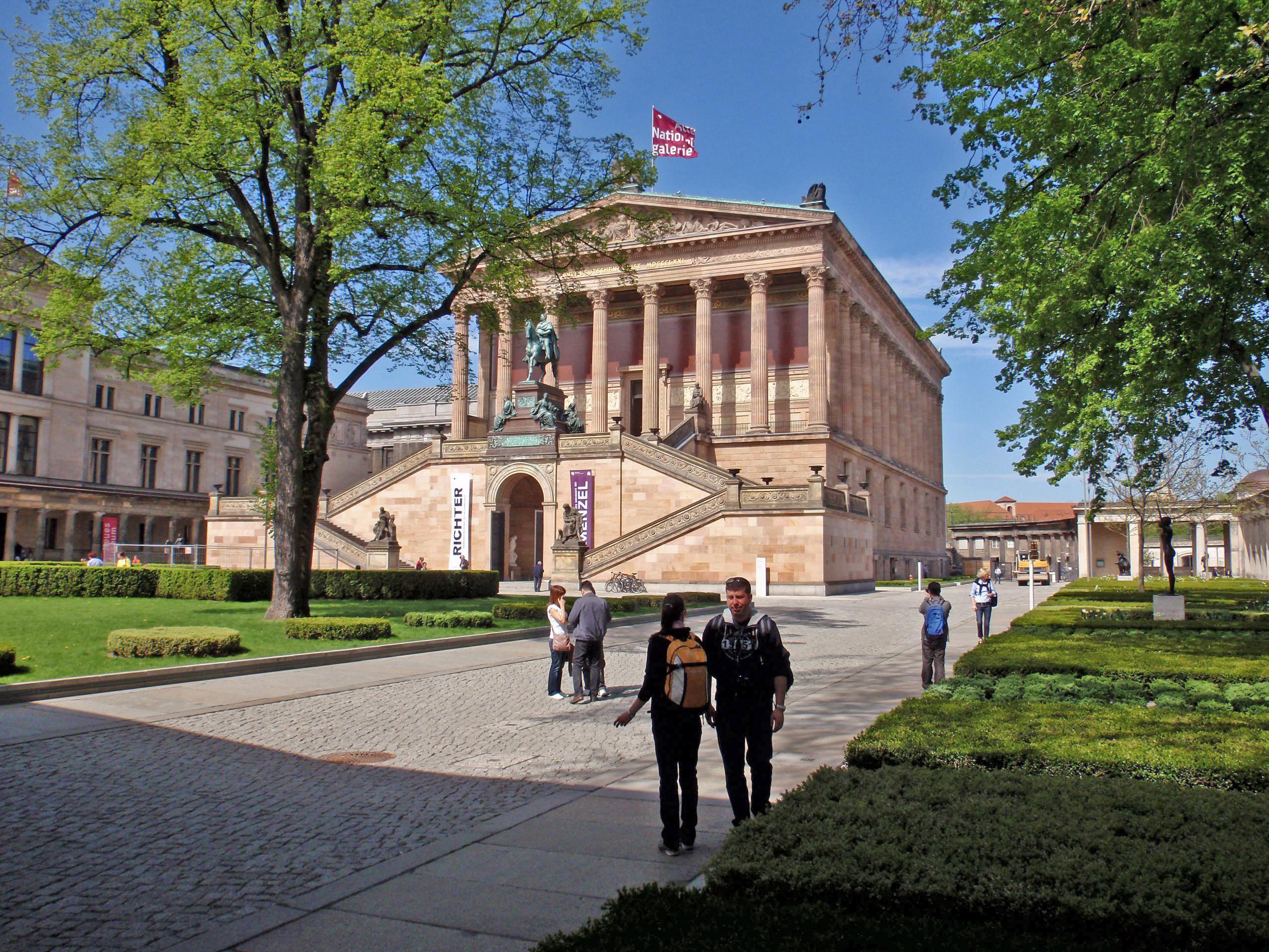Wanderlust i Alte Nationalgalerie