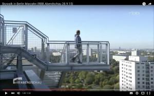 Skywalk Marzahn fra robb Abendschau's YouTube-video