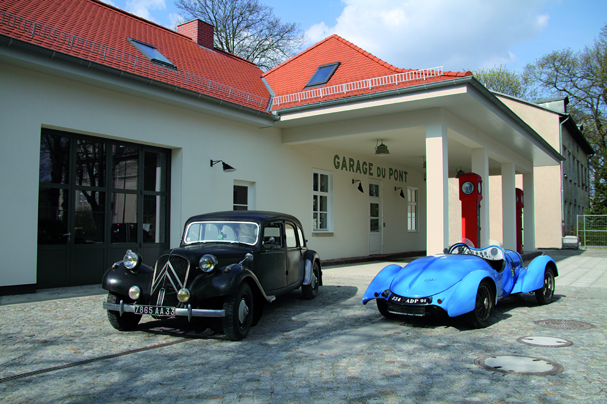 Garage du pont i Potsdam