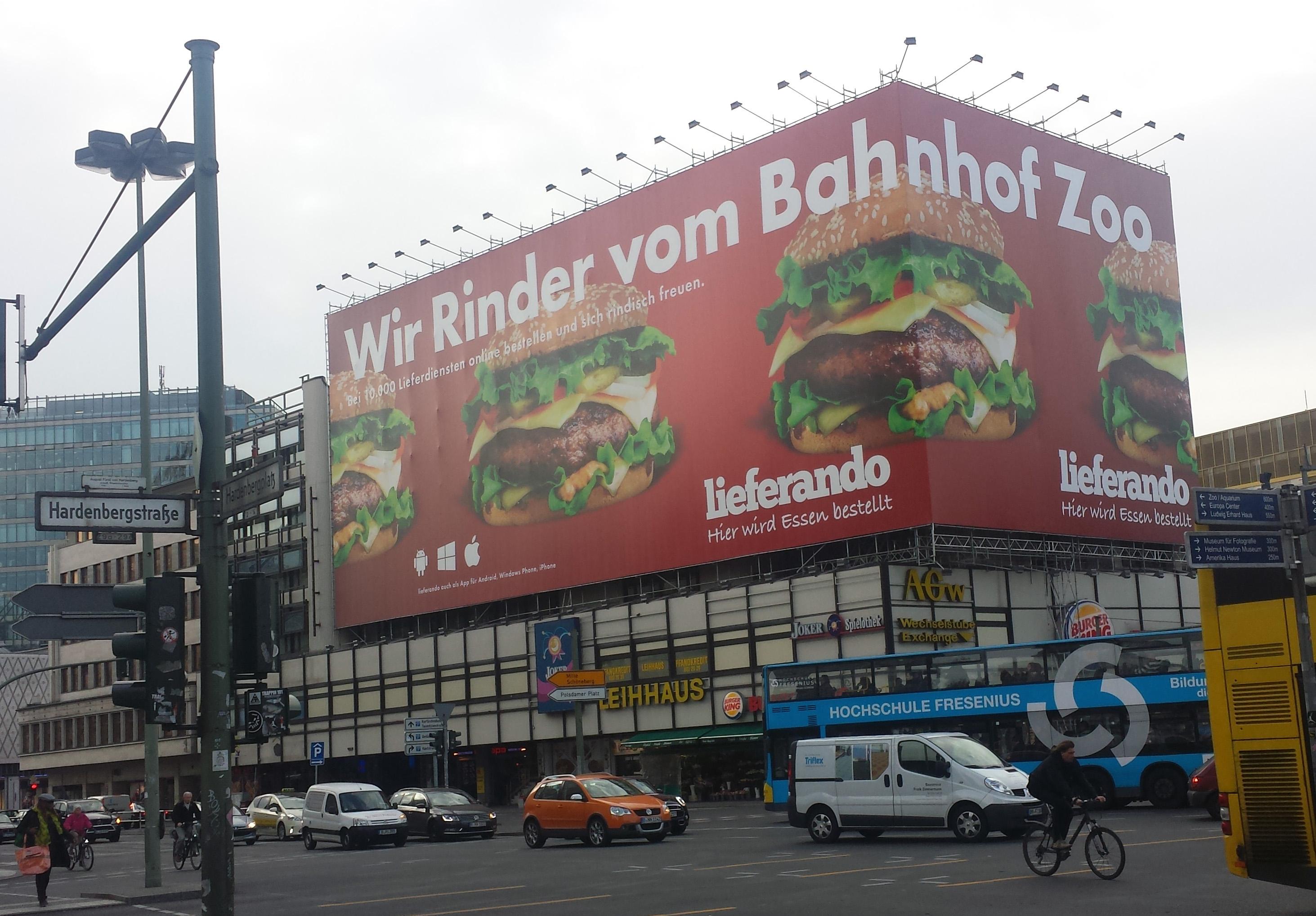 En sjov reklame og en alvorlig historie