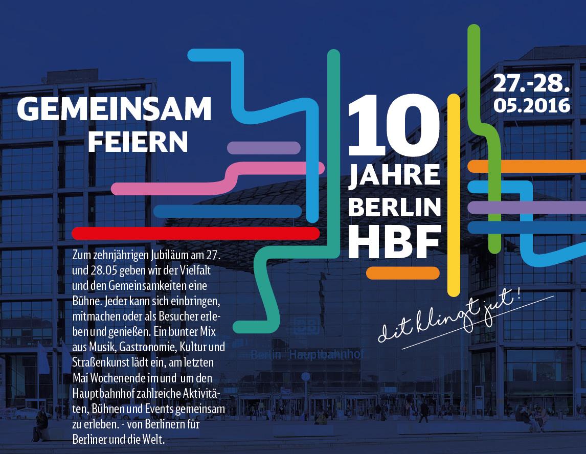 Hauptbahnhof 10 års jubilæum