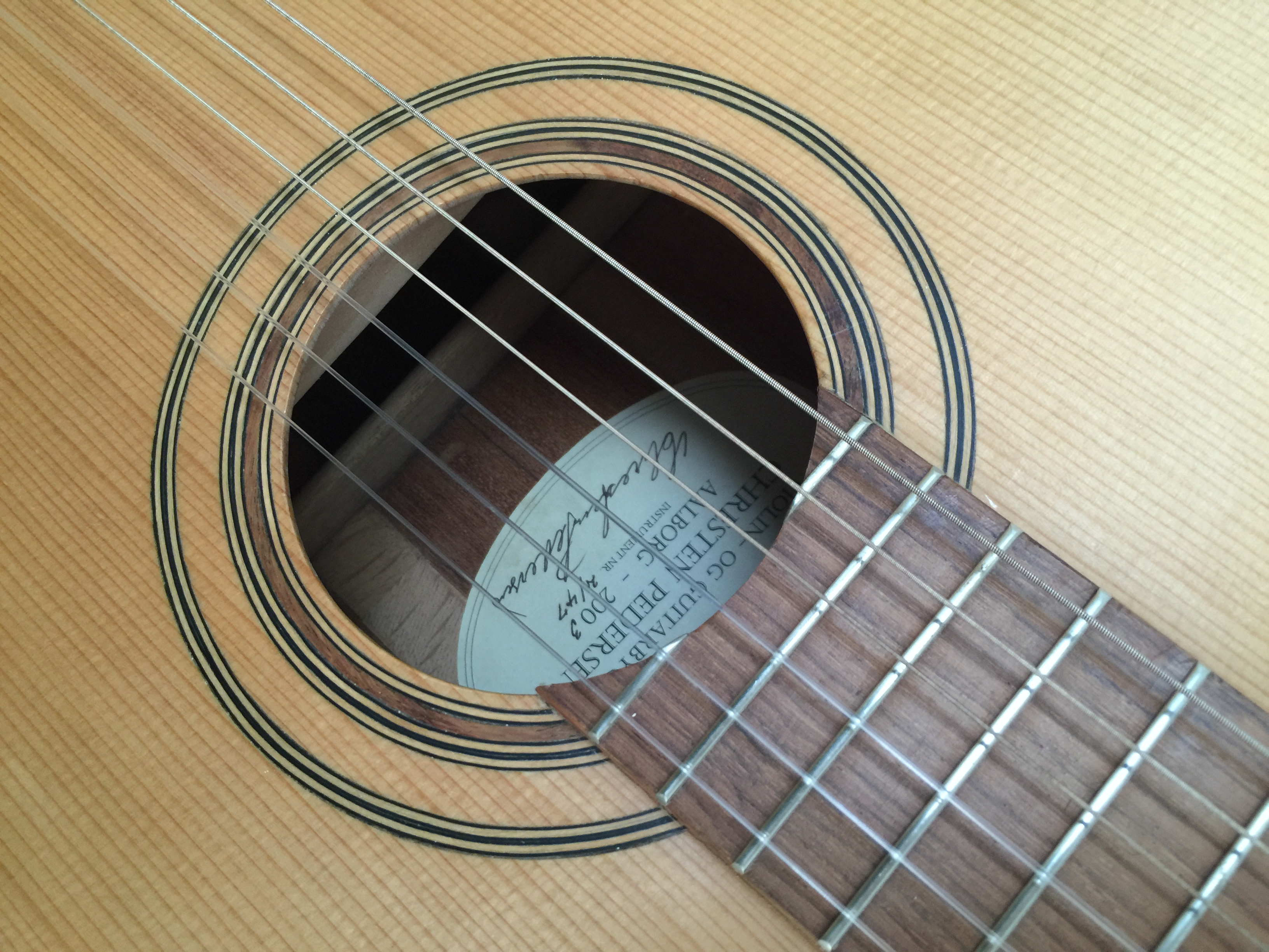 En gratis guitarkoncert