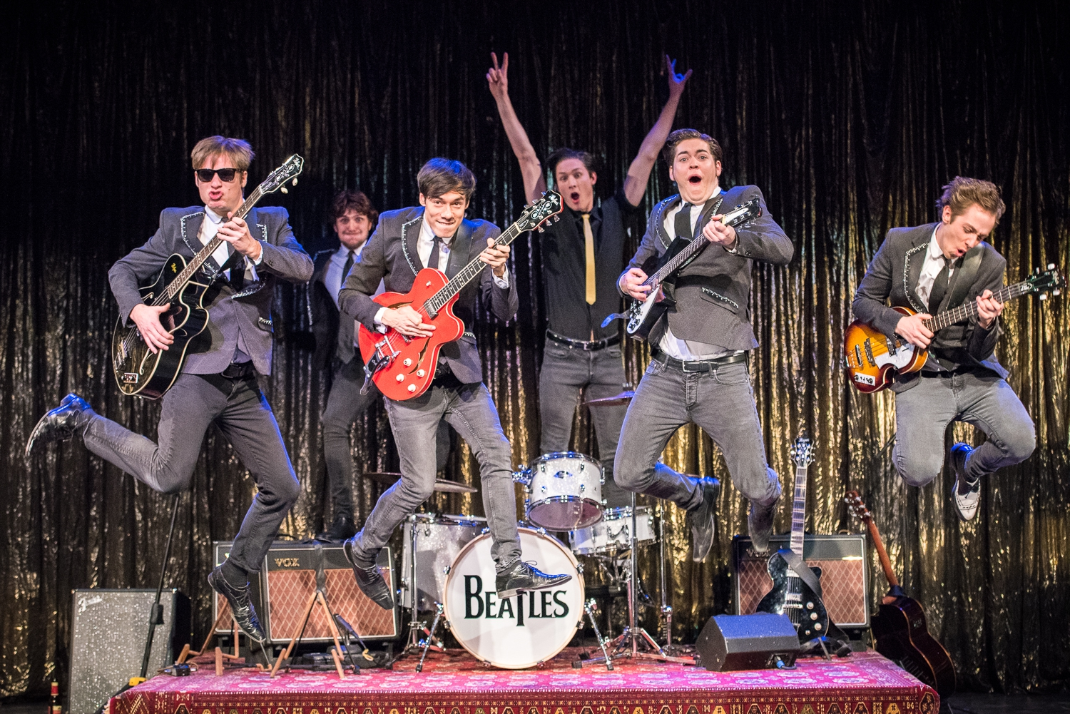 Beatles-forestilling på Theater am Kuhdamm