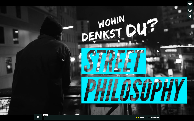Streetphilosophy i Berlin
