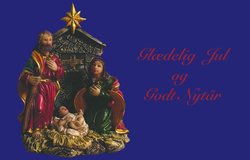 Ønsker alle glædelig og fredfyldt jul