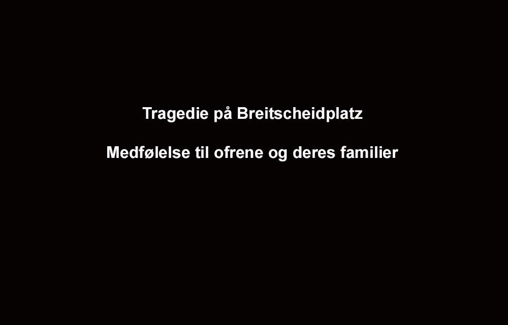 Tragedie på Breitscheidplatz