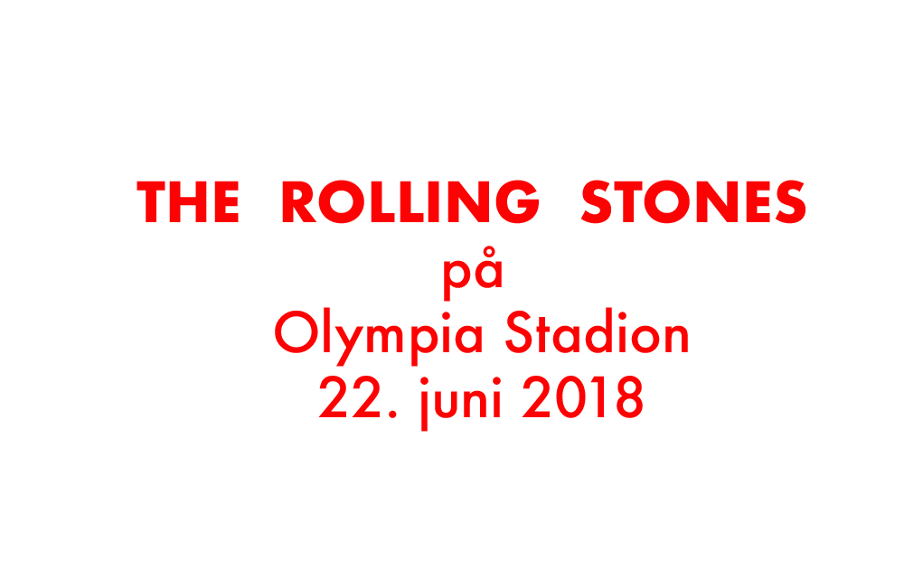 The Rolling Stones på Olympia Stadion